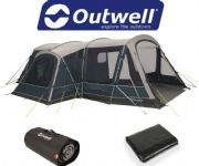 Outwell Bayland 6P Tent 2020 (Inc: Carpet + Footprint)